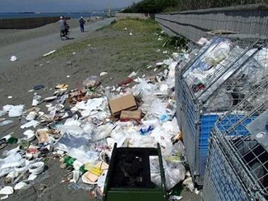 湘南のゴミ