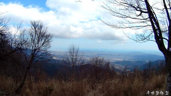 ナナメ歩き - 櫟山