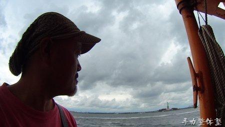 スタテンアイランドフェリーから自由の女神を眺める
