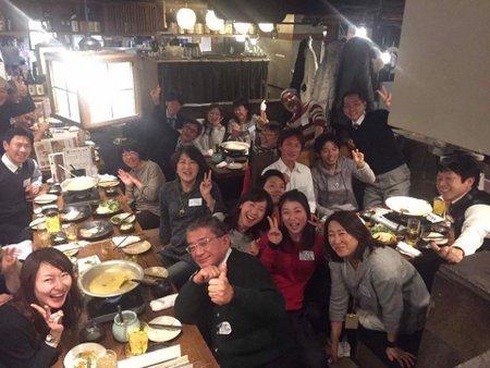 Team KURIKI新年会2017