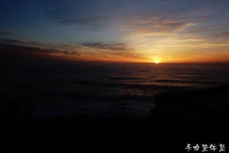 水平線からのからの朝日