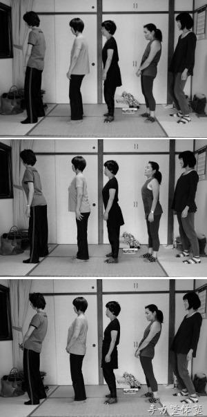 姿勢3パターン