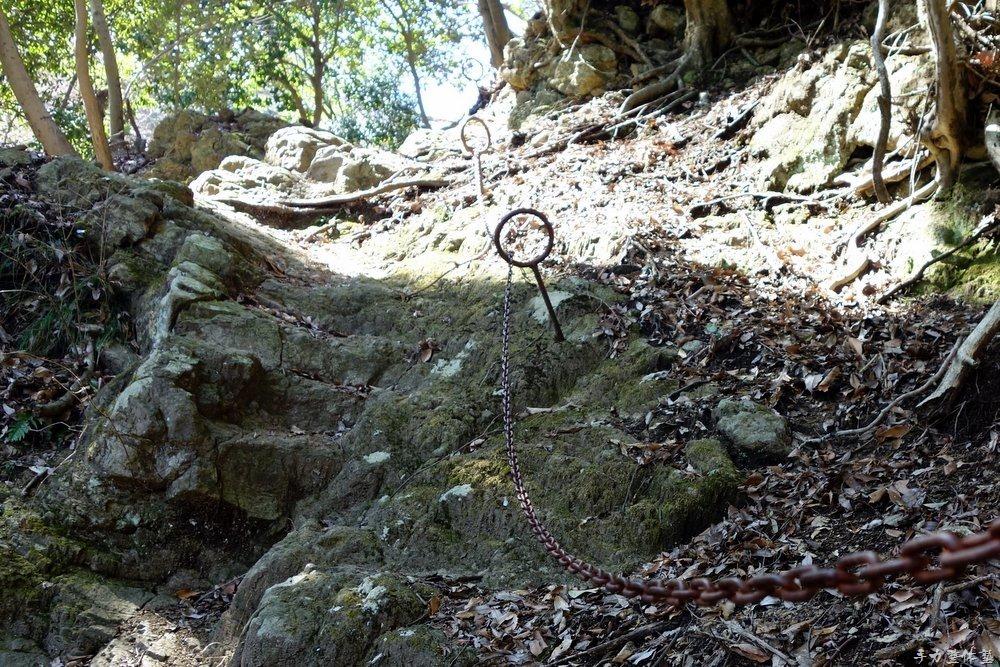 鐘ヶ嶽の鎖場