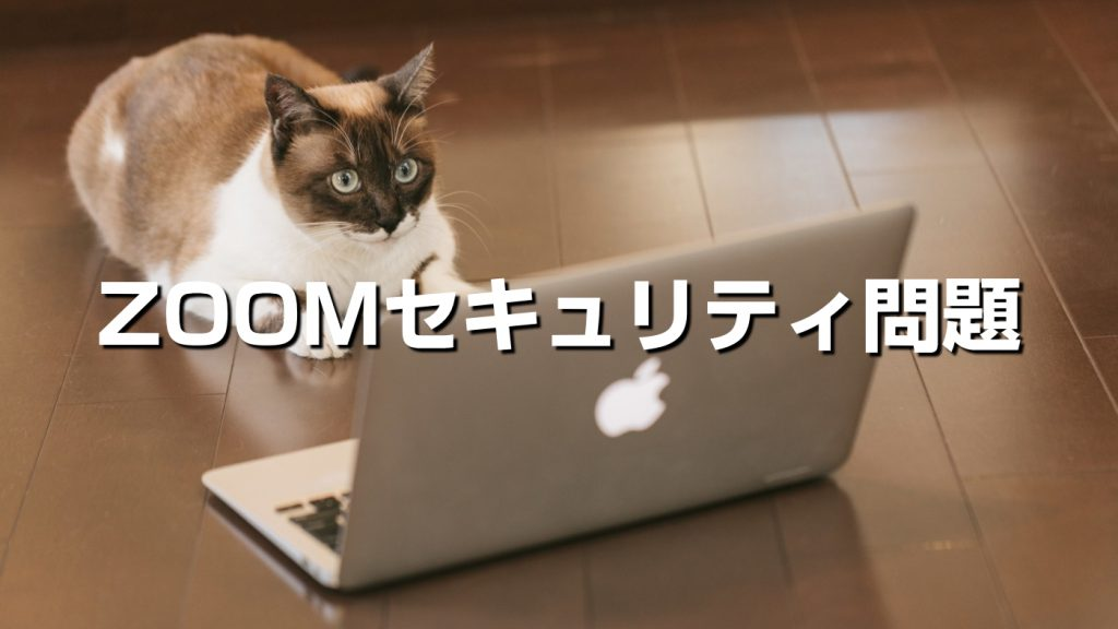 【ZOOM】オンライン講座のセキュリティ問題